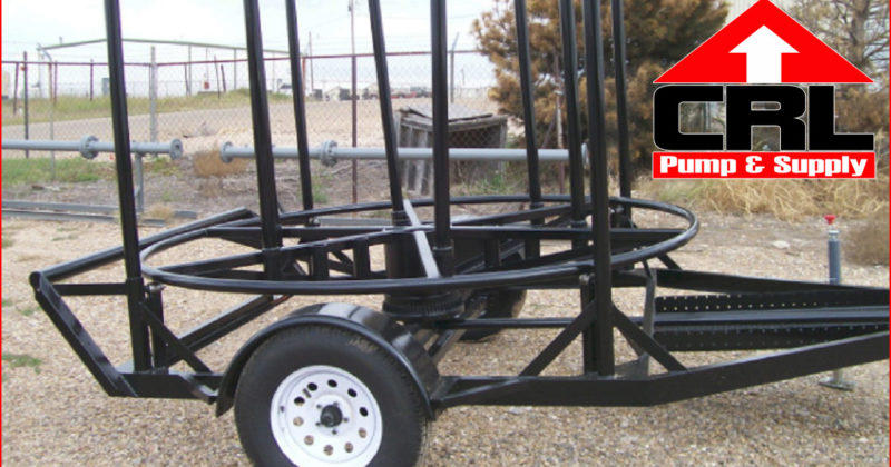 FOR SALE: New Heavy Duty Poly Pipe Trailer